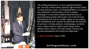 JFK On The Second Amendment
