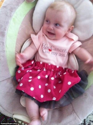 Diagnosed with a Tumor in her neck at 6 months, 2 surgeries and 4 ...