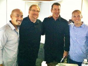 Francis Chan, Rick Warren, Bruce Frank, David Platt