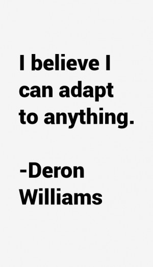 Deron Williams Quotes & Sayings
