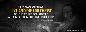 John Calvin Quotes Facebook Cover Photo