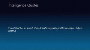 Einstein intelligence quotes