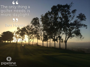 Ben Hogan Golf Quotes // Rolling Hills Country Club