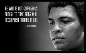 Muhammad Ali ~ Quote ~ Life ~ Classic ~