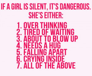 True or False About Girl...