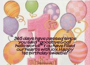 ... 30th, 2014 Leave a comment wishes 1st birthday quotes for boys
