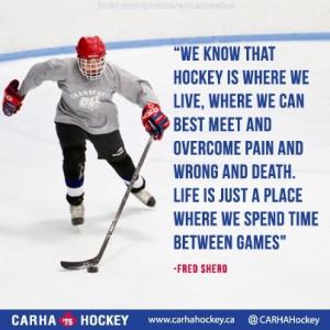... we spend time between games.