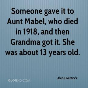 death of an aunt quotes