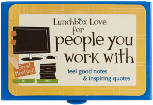 Thank You Quotes For Fellow Workers ~ Lunch Box Notes for Adults ...