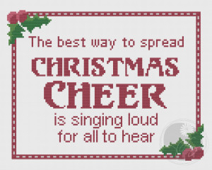 Embroidery: Buddy the Elf Christmas Quote