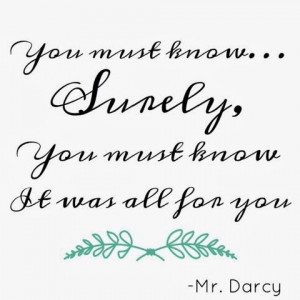 Pride and Prejudice quote // My Grandest Adventure: How to find YOUR ...