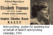 1916: NAACP Anti-Lynching Campaign