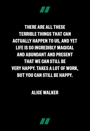 Wisdom from Alice Walker, very meaningful in this time of tragedy www ...