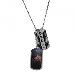 Divergent (Four Tattoos) Metal Dog Tags Preview