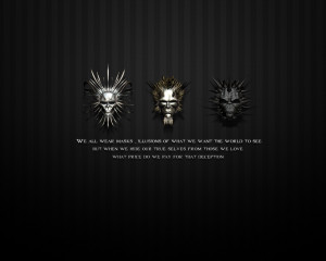 ... Download Wallpapers Witcher Gothic Masks Love Quotes Witches Games