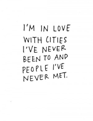 cities, love, people, quote. true