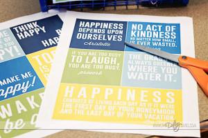 happy quotes to print