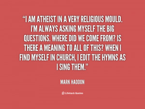Quotes by Mark Haddon