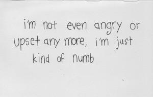 ... numb feel depressive hopless depressing quotes depressing tumblr