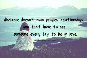 distance #distance quotes #love quotes #teen quotes #picture quotes # ...