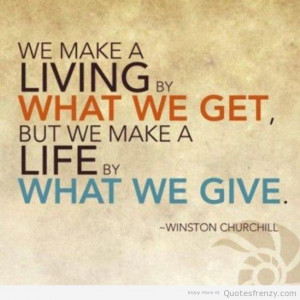 ... quotes sayings charity quotes pictures quotes about charity and giving
