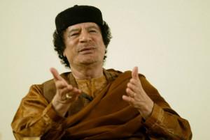 , long-surviving ruler, the ruthless Libyan dictator Muammar Gaddafi ...