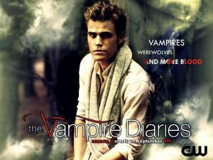 The Vampire Diaries season 2 promo wallpaper