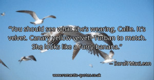 -should-see-what-shes-wearing-callie-its-velvet-canary-yellow-velvet ...