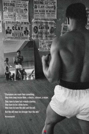 Muhammad Ali on becoming a champion