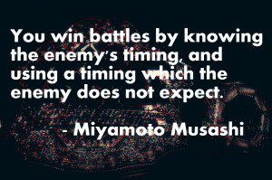 Miyamoto Musashi / Book of Five Rings Quotes