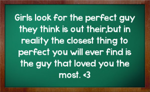 Finding The Perfect Guy Girl Images Love Quotes