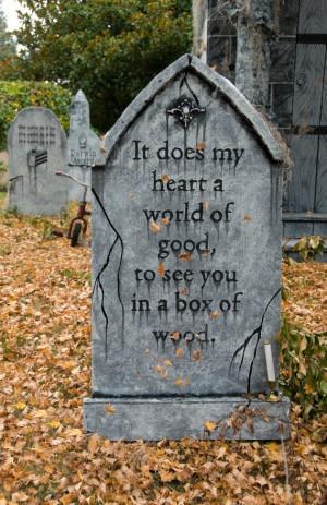 funny headstone quotes halloween
