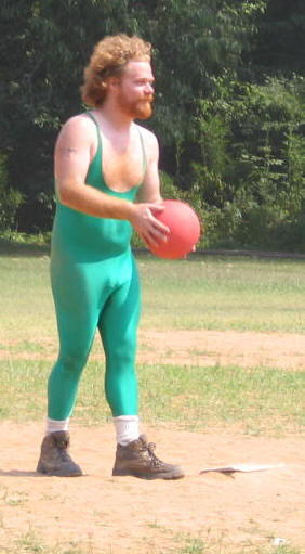 said that 4 square was the new hipster sport . I disagree. Kickball ...