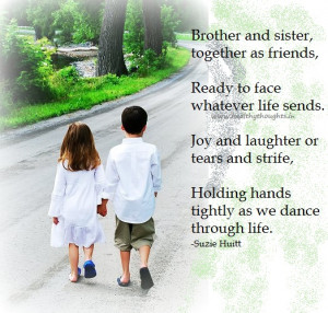 quotes about brothers and sisters love