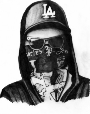 Hollywood Undead Charlie Scene Drawings