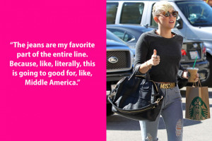 Miley Cyrus really does care about Midwesterners getting their jeans ...