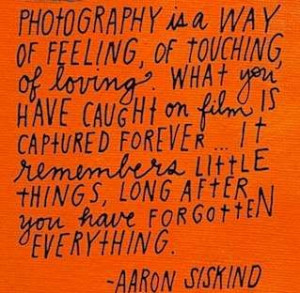 ... - Aaron Siskind Illustrated by Lisa Congdon #photography #quote