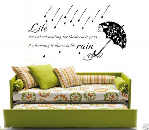 LIFE INSPIRATION Wall Art Quote Decal