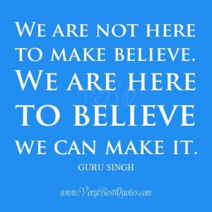 We can make it quotes belief quotes