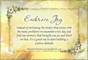 ... joy for me i found this lovely quote and thought i d share it with you