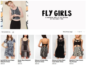 Check Out Urban Outfitters' Tribute To The Fly Girls, Using Only White ...
