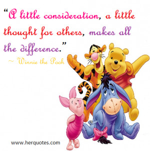 Consideration Quotes a little consideration, a