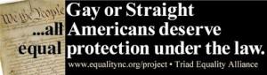 Triad Equality Alliance - Gay Equality