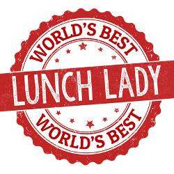 worlds_best_lunch_lady_greeting_cards.jpg?height=250&width=250 ...