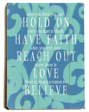 Lisa Weedn 'Hold On To Faith'