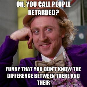 Retarded People