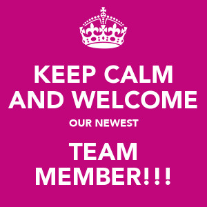 chapter welcome new team member emails welcome to our team message