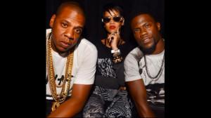 Jay-Z, Rihanna, Kevin Hart
