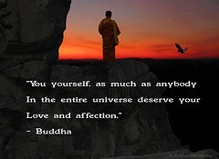 image affection quote buddha joy picture happiness monk buddhism zen ...