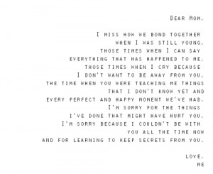 dear quotes